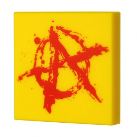 Anarchy Graffiti (Tile 2x2 - Yellow)