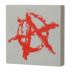 Anarchy Graffiti (Tile 2x2 - Light Bluish Gray)