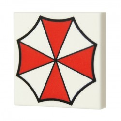 Umbrella (Tile 2x2 - White)