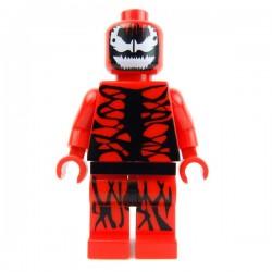 Lego Custom Minifig Muddy River MRM Carnage (La Petite Brique)
