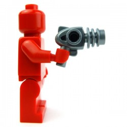 Lego Accessoires Minifig Ray Gun (Flat Silver) (La Petite Brique)