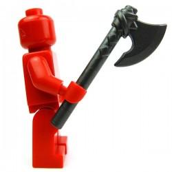Lego Accessoires Minifig Custom BRICK WARRIORS Hache Vicking (Steel) (La Petite Brique)