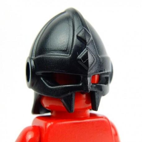 Lego Accessoires Minifig Custom BRICK WARRIORS Casque Vicking (Noir) (La Petite Brique)
