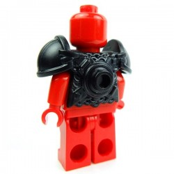 Lego Accessoires Minifig Custom BRICK WARRIORS Armure Vicking (Noir) (La Petite Brique)