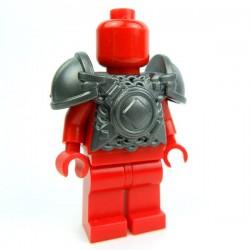 Lego Accessoires Minifig Custom BRICK WARRIORS Armure Vicking (Steel) (La Petite Brique)