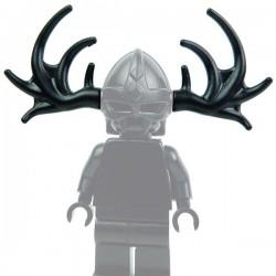 Lego Accessoires Minifig Custom BRICK WARRIORS Bois d'Orignal / Elan (Noir) (La Petite Brique)