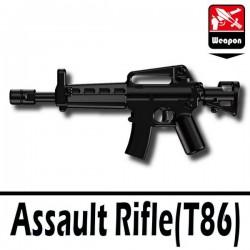 Lego Accessoires Minifig Si-Dan Toys Assault Rifle T86 (noir) (La Petite Brique)