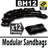 Modular Sandbags (Black)