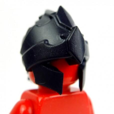 Lego Accessoires Minifig Custom BRICK WARRIORS Casque Harpie (Noir) (La Petite Brique)