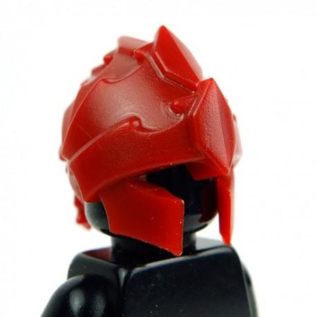 Lego Accessoires Minifig Custom BRICK WARRIORS Casque Harpie (Dark Red) (La Petite Brique)