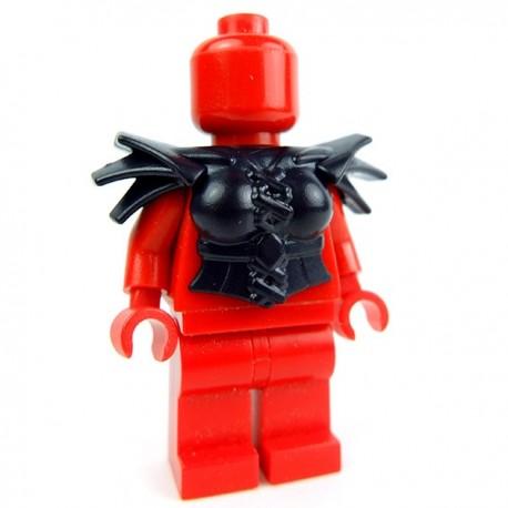 Lego Accessoires Minifig Custom BRICK WARRIORS Armure Harpie (Noir) (La Petite Brique)