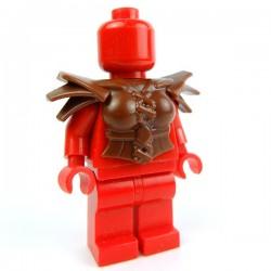 Lego Accessoires Minifig Custom BRICK WARRIORS Armure Harpie (Marron) (La Petite Brique)
