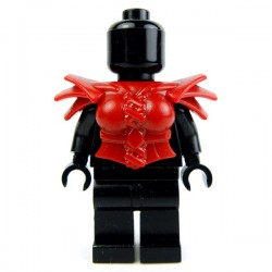 Lego Accessoires Minifig Custom BRICK WARRIORS Armure Harpie (Dark Red) (La Petite Brique)