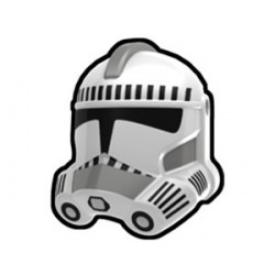 White Security Trooper Helmet