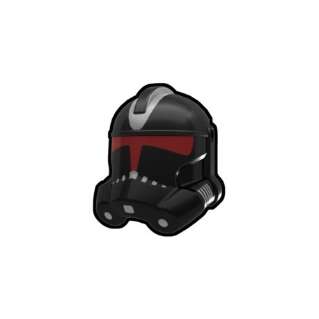Lego Minifig Custom AREALIGHT Black Shadow Trooper Helmet (La Petite Brique) Star Wars
