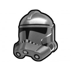 Silver Trooper Helmet