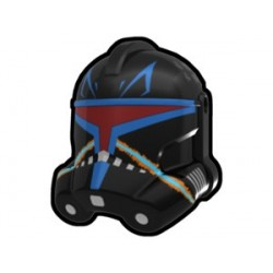 Lego Minifig Custom AREALIGHT Black Rex Trooper Helmet (La Petite Brique) Star Wars