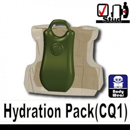Lego Accessoires Minifig Si-Dan Toys Sac à dos Hydratation (Vert Militaire) (La Petite Brique)
