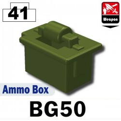Ammo Box (BG50) (Military Green)