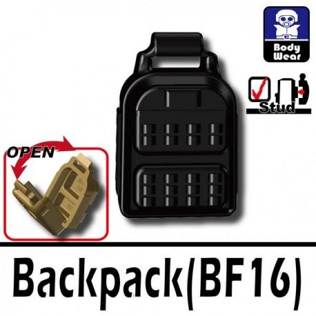 Lego Accessoires Minifig Si-Dan Toys Sac à dos (noir) (La Petite Brique)