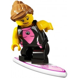 la surfeuse