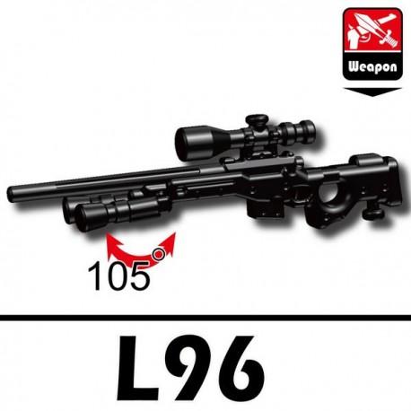 Lego Accessoires Minifig Si-Dan Toys L96 (noir) (La Petite Brique)
