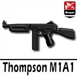 Lego Accessoires Minifig Si-Dan Toys Thompson M1A1 (noir) (La Petite Brique)