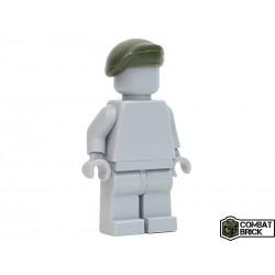 Lego Accessoires Minifig COMBAT BRICK Moden Warfare : Beret (Vert Militaire) (La Petite Brique)