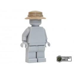 Lego Accessoires Minifig COMBAT BRICK Moden Warfare : Boonie hat (Beige) (La Petite Brique)