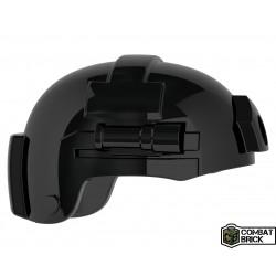 Lego Accessoires Minifig COMBAT BRICK Special Forces Lightweight Helmet (Noir) (La Petite Brique)