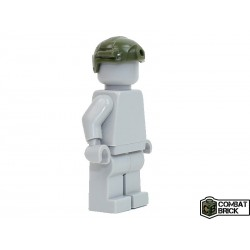 Lego Accessoires Minifig COMBAT BRICK Special Forces Lightweight Helmet (Vert Militaire) (La Petite Brique)