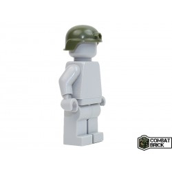Lego Accessoires Minifig COMBAT BRICK Advanced Combat Helmet (Vert Militaire) (La Petite Brique)