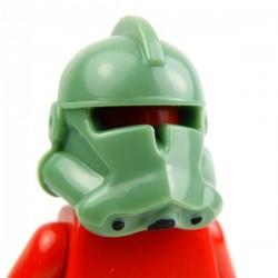 Sand Green Commander Helmet (hand painted)