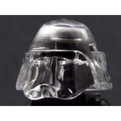 Lego Minifig Custom AREALIGHT Trans-Clear Bacara Helmet (La Petite Brique) Star Wars