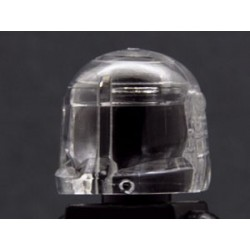 Lego Minifig Custom AREALIGHT Trans-Clear Commando Helmet (La Petite Brique) Star Wars
