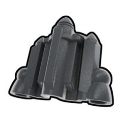 Lego Minifig Custom AREALIGHT Silver Jetpack Set (La Petite Brique) Star Wars