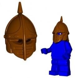 Lego Accessoires Minifig Custom BRICK WARRIORS Casque Crossbowman (Marron) (La Petite Brique)