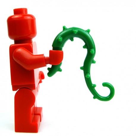 Lego Accessoires Minifig Custom BRICK WARRIORS Fouet de vigne (Vert) (La Petite Brique)