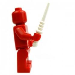 Lego Accessoires Minifig Custom BRICK WARRIORS Baguette magique (Blanc) (La Petite Brique)