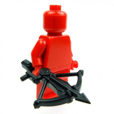 Lego Accessoires Minifig Custom BRICK WARRIORS Arbalète (Noir) (La Petite Brique)