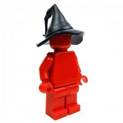 Lego Accessoires Minifig Custom BRICK WARRIORS Chapeau de Magicien (Noir) (La Petite Brique)
