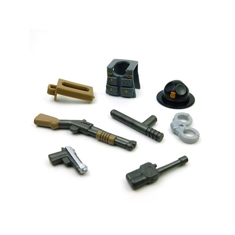 Lego BrickForge Custom Minifig Accessories Pack Sheriff