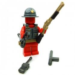 "Lego Accessoires Minifig Custom BRICKFORGE Pack Sheriff ""Deputy"" (La Petite Brique)"
