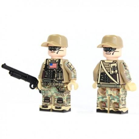 Lego Custom Minifig Accessories X39BrickCustoms American Engineer (La  Petite Brique)