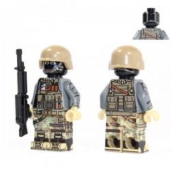Lego Custom Minifig X39 American Support (La Petite Brique)