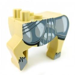 Lego Accessoires Minifig Custom BRICKFORGE Centaure Beige (Charger) (La Petite Brique)