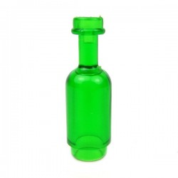 Round Bottle (Trans Green)
