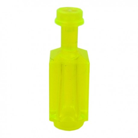 Square Bottle (Trans Neon Green)