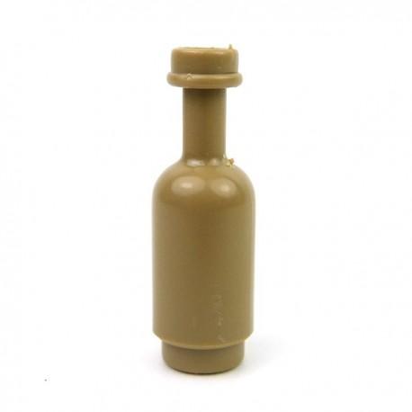 Round Bottle (Dark Tan)