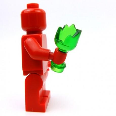 Lego Accessoires Minifig Custom BRICKFORGE Bouteille cassée (Vert transparent) (La Petite Brique)